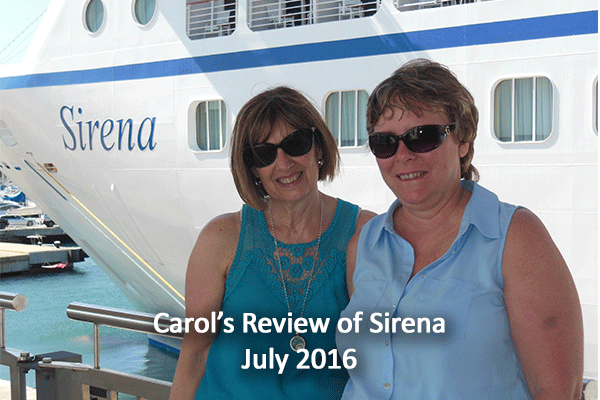 Oceania Sirena Review by Carol - Cruise Holidays of Burlington